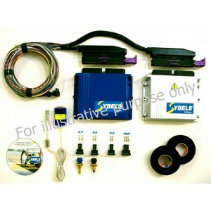 Commander6D inductive pump injectors (complete kit)