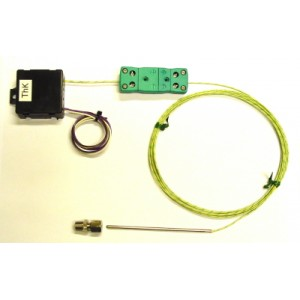Pre-amplified thermocouple K
