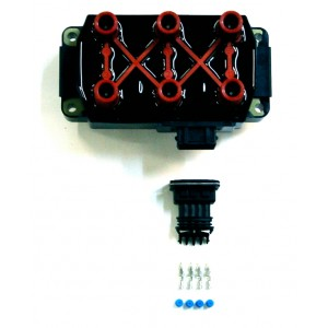 3 x twin outputs ignition coil